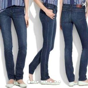 Madewell Rail Straight Jeans Size 28x34